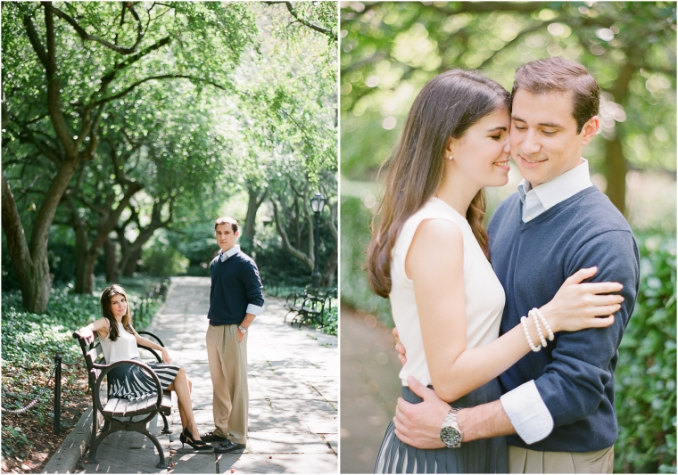 nyc film central park engagement